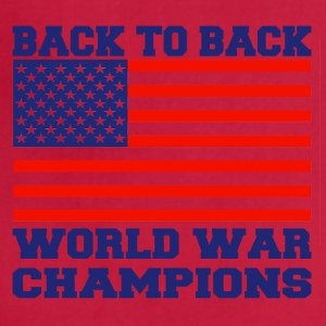 back to back world champions - Adjustable Apron
