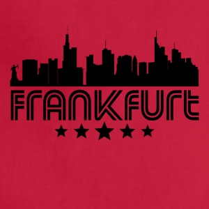 Retro Frankfurt Skyline - Adjustable Apron