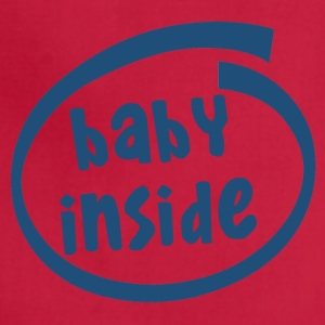 baby inside (1811C) - Adjustable Apron