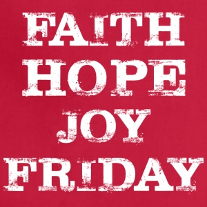 Faith Hope Joy Friday Jesus Good Friday - Adjustable Apron