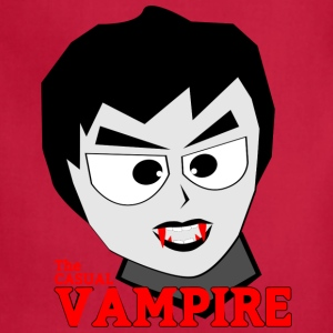 the casual vampire - Adjustable Apron