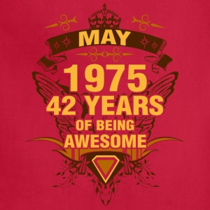 May 1975 42 Years of Being Awesome - Adjustable Apron