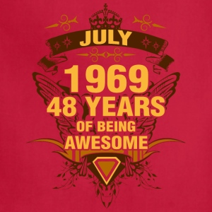 July 1969 48 Years of Being Awesome - Adjustable Apron