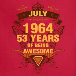 July 1964 53 Years of Being Awesome - Adjustable Apron