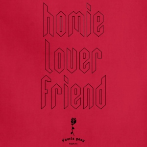 HOMIE LOVER FRIEND - Adjustable Apron