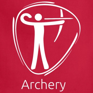 Archery_white - Adjustable Apron