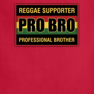 Pro Bro Reggae Supporter - Adjustable Apron