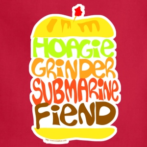 Hoagie Grinder Submarine Fiend - Adjustable Apron