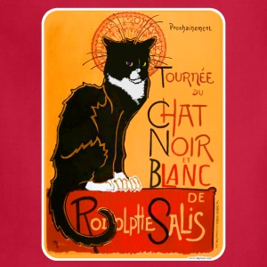 Tuxedo Chat Noir Poster - Adjustable Apron