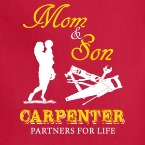 Mom and Son Carpenter T-Shirts - Adjustable Apron