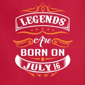 Legends are born on 16 - Adjustable Apron