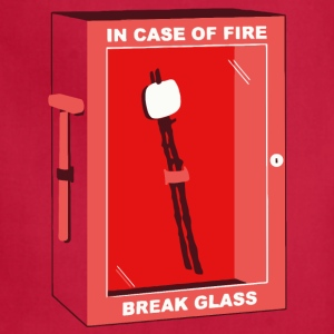 In Case of Fire - Adjustable Apron