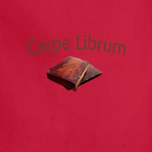Carpe Librum ( Seize the Book) - Adjustable Apron
