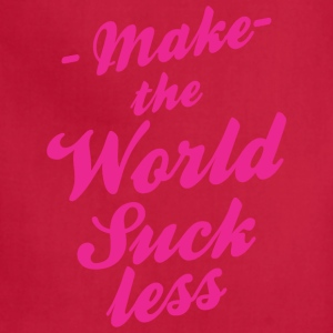 Make The World Suckless - Adjustable Apron
