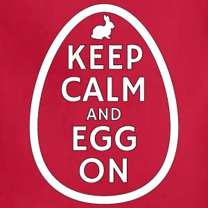 Keep Calm and Egg on - Adjustable Apron