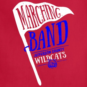 Marching Band Jefferson County Wildcats - Adjustable Apron