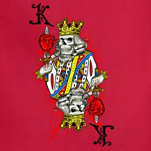 King of Dead Hearts - Adjustable Apron