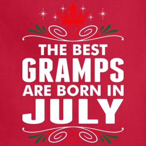 The Best Gramps Are Born In July - Adjustable Apron