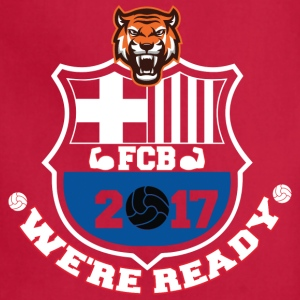 FC Barcelona Football Shirts 2017 - Adjustable Apron