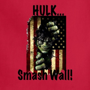 Hulk Smash Wall! - Adjustable Apron