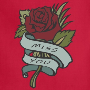 MISS YOU love - Adjustable Apron