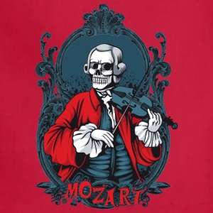 skull_mozart - Adjustable Apron