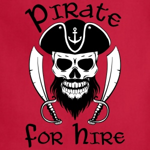 Pirate For Hire - Adjustable Apron