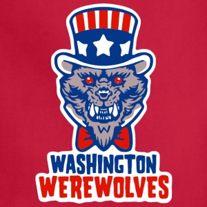 Washington Werewolves - Adjustable Apron