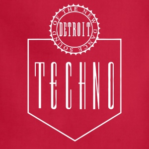 Bargain The New Dance Sound Detroit Techno - Adjustable Apron