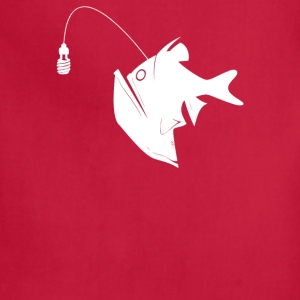 Angler Fish with Green Light Bulb - Adjustable Apron