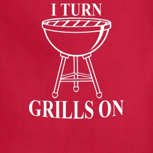 Dad Grilling Bbq - Adjustable Apron