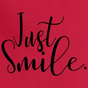 Just Smile - Adjustable Apron