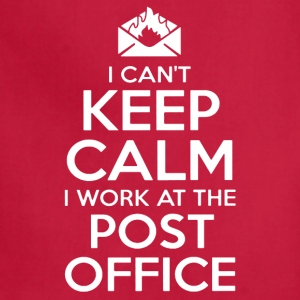 KEEP CALM POST OFFICE SHIRT - Adjustable Apron
