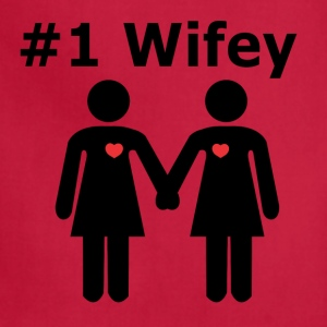 #1 Wifey lesbian interest from Bent Sentiments - Adjustable Apron