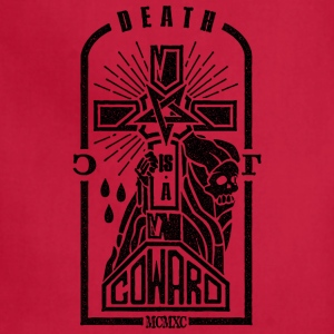 Death is a Coward - Adjustable Apron