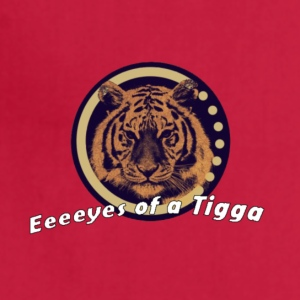TiggaPlays Eeys of a Tiger - Adjustable Apron