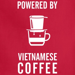 Powered_By_Vietnamese_Coffee - Adjustable Apron