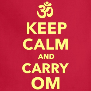Keep calm and carry om - Adjustable Apron