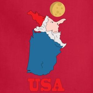 A funny map of the USA - Adjustable Apron