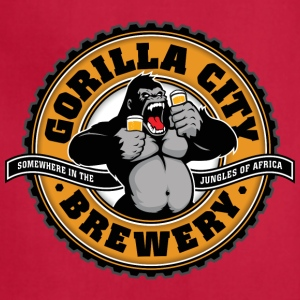 Gorilla City Brewery - Adjustable Apron