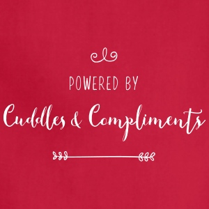 Powered by Cuddles and Compliments - Adjustable Apron