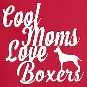 Cool Moms Love Boxers - Adjustable Apron