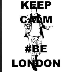 Keep Calm Be London - iPhone 7 Plus Rubber Case