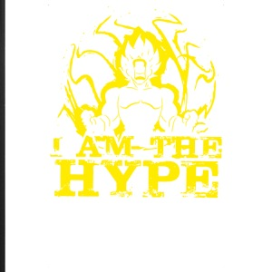 I Am The Hype Funny Men's T-shirt - iPhone 7 Plus Rubber Case