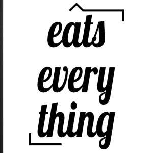 Eats everything - iPhone 7 Plus Rubber Case