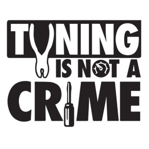Tuning is not a crime - iPhone 7 Plus Rubber Case
