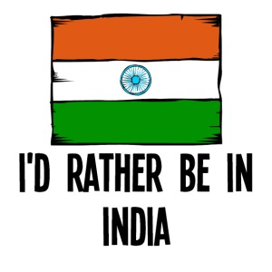 I'd Rather Be In India - iPhone 7 Plus Rubber Case