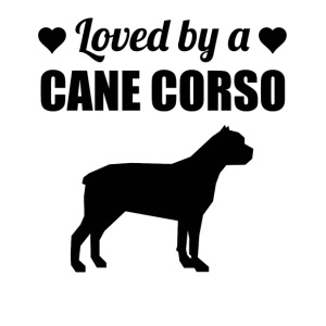 Loved By A Cane Corso - iPhone 7 Plus Rubber Case