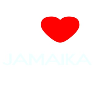 I LOVE JAMAIKA - iPhone 7 Plus Rubber Case