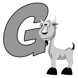 G Is For Goat - iPhone 7 Plus Rubber Case
